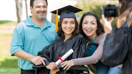 College graduations are proud moments for the parents,