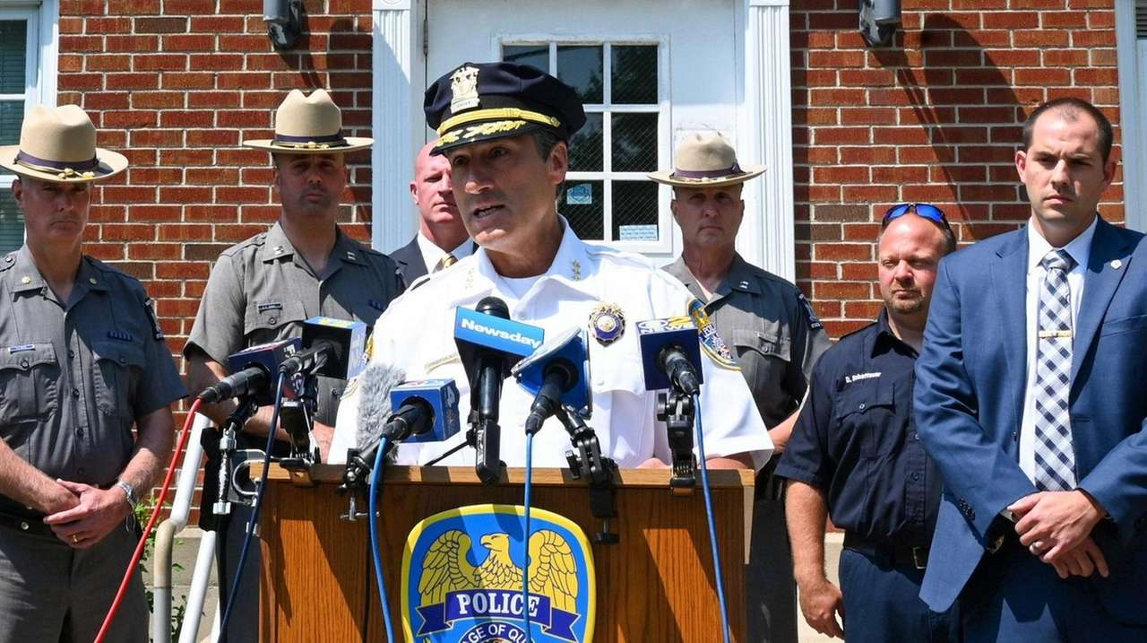 Quogue village police on Tuesday said a village