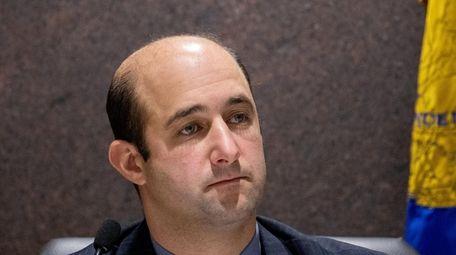 Suffolk County Legislature Presiding Officer Robert Calarco is