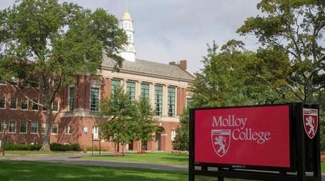 Molloy College in Rockville Centre.