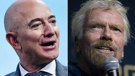 Billionaires Jeff Bezos and Richard Branson both made
