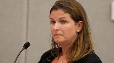 Jennifer Culp, the intergovernmental coordinator for the Suffolk
