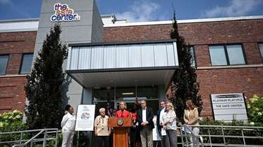 Nassau County Executive Laura Curran announced Wednesday that