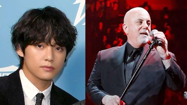 V, of K-pop group BTS, cites Billy Joel