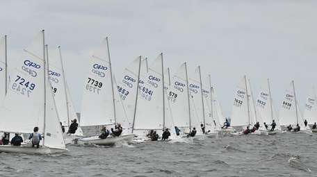 About 200 young sailors will compete in two-person