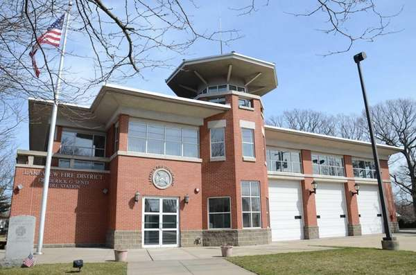 The headquarters for the Lakeview Volunteer Fire Department