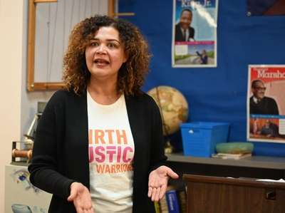 Martine Hackett, co-founder of Birth Justice Warriors and