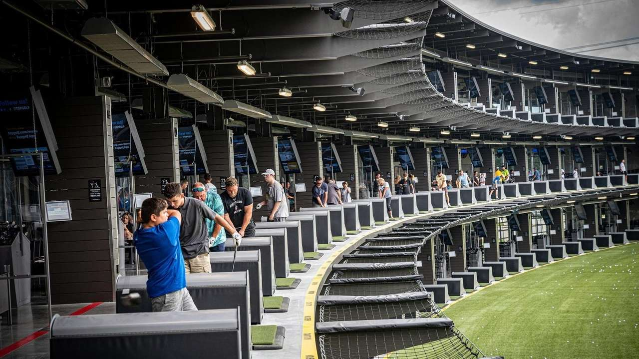 Topgolf opened a location in Holtsville.