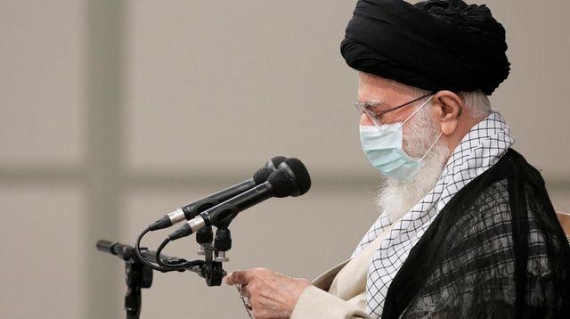 Iran's leader Ayatollah Ali Khamenei told the new
