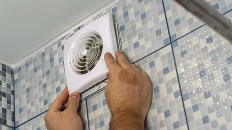 Bathroom fans can languish if their covers aren't