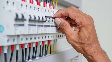 Licensed electricians can diagnose issues within the main
