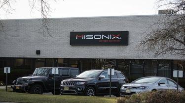 Misonix's headquarters in Farmingdale. The medical device maker