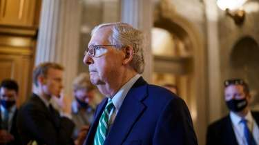 Senate Minority Leader Mitch McConnell (R-Ky.) seems to