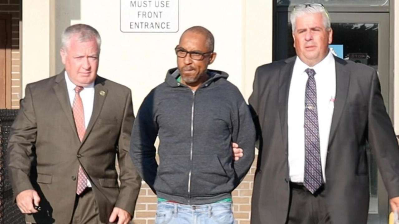 Wayne Chambers, 49, of Holtsville was charged Friday