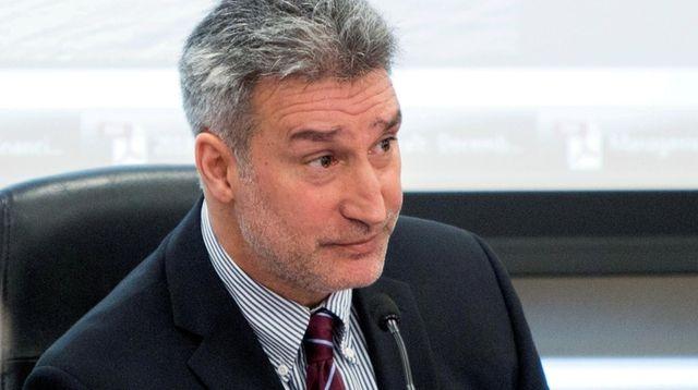 Long Island Power Authority trustee Mark Fischl looks