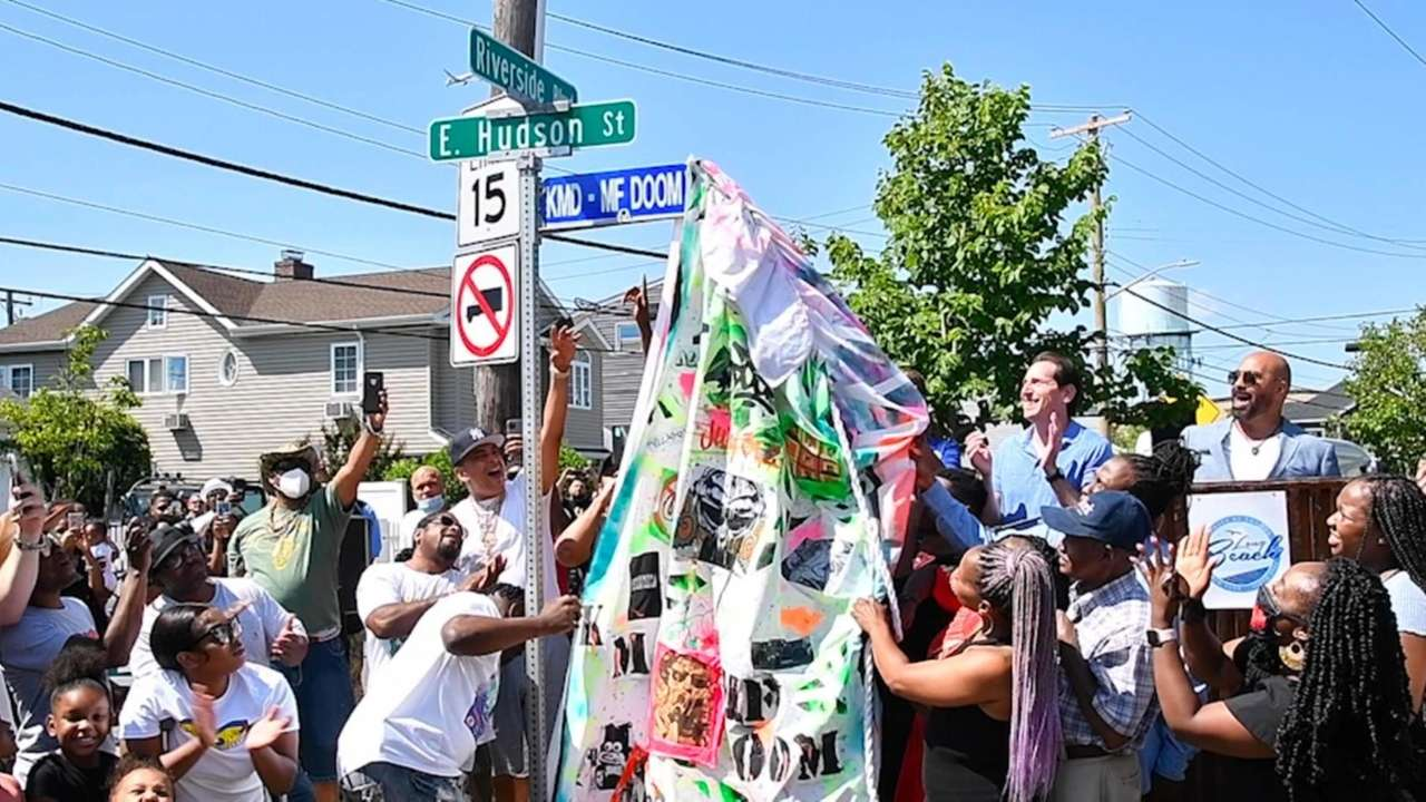 Friends, family and fansgathered to rename East Hudson