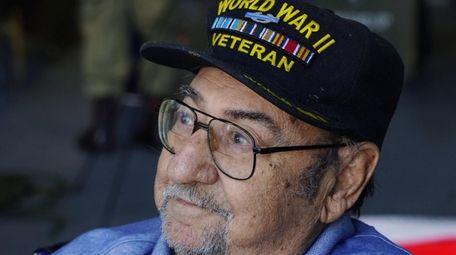 World War II veteran Joseph Salvatore Randazzo attends