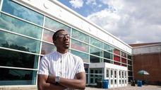 Stony Brook University student Christopher Jean, of West