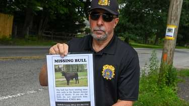 Roy Gross, chief of the Suffolk County SPCA,