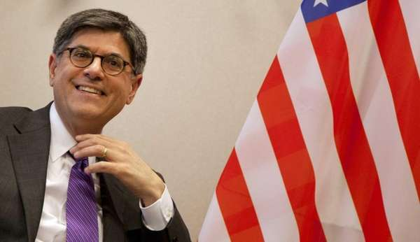 Treasury Secretary Jacob Lew prepares to meet with