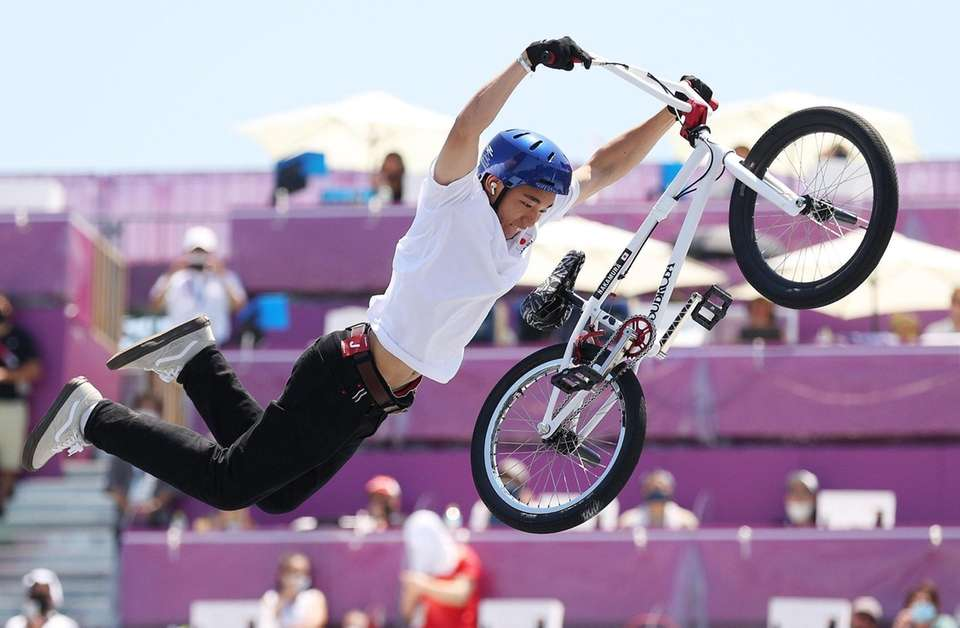 Rim Nakamura of Team Japan competes in the