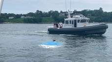 The Huntington harbormaster's team of bay constables on