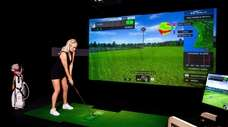 X-Golf, a high-end golf simulator, will occupy approximately