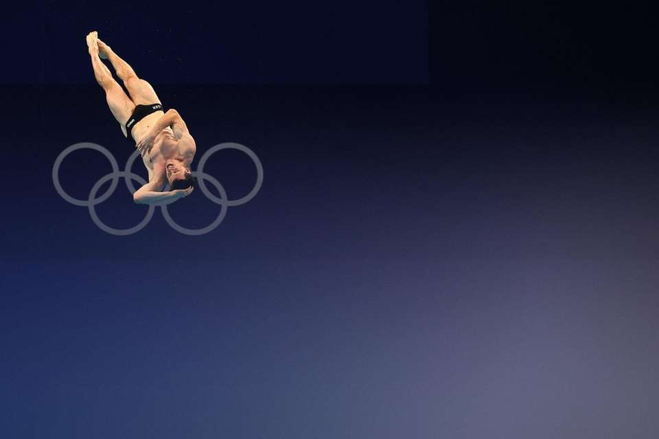 Patrick Hausding of Team Germany competes in the
