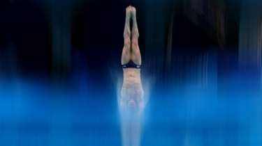Andrew Capobianco of Team USA competes in the