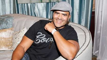 Christopher Jackson seen at the Backstage Creations