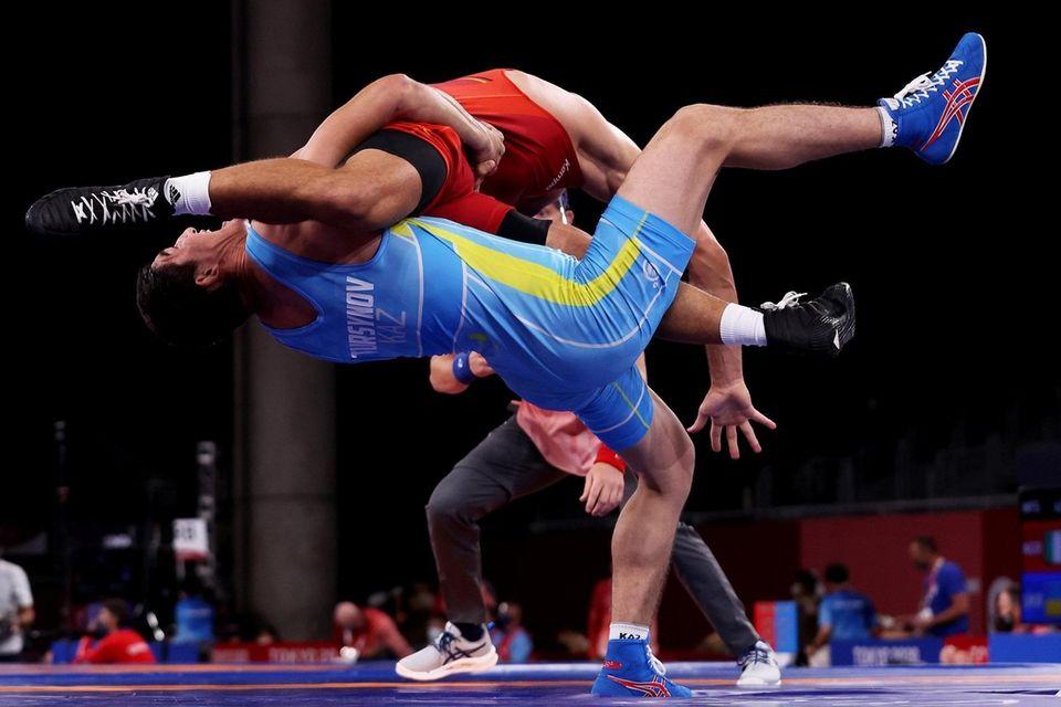 Denis Maksymilian Kudla of Team Germany competes against