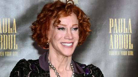 Kathy Griffin, who underwent lung cancer surgery on