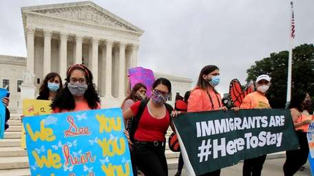 Deferred Action for Childhood Arrivals, or DACA, students