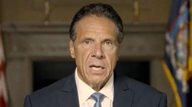 Gov. Andrew M. Cuomo is speaking following the