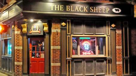 The Black Sheep Ale House in Mineola.
