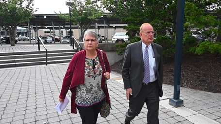 Bus driver Diane Juergens was arraigned on a