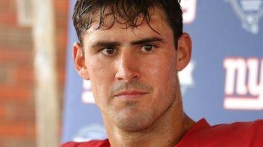 New York Giants quarterback Daniel Jones discusses the