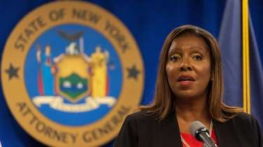 New York Attorney General Letitia James on Tuesday