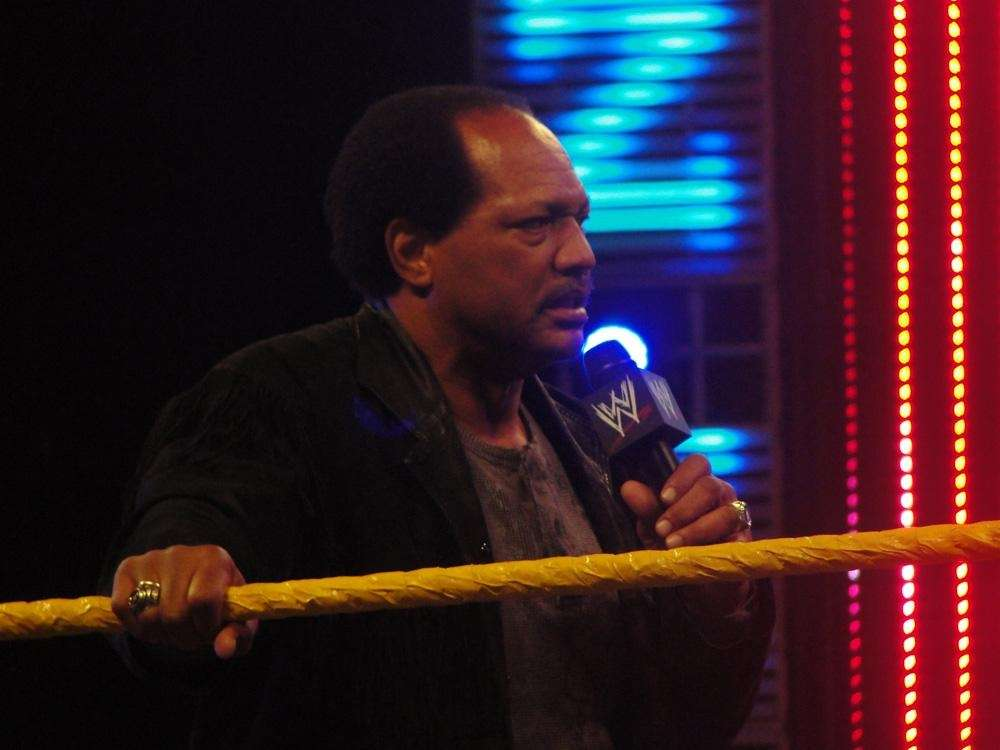 WWE Hall of Famer Ron Simmons, aka Faarooq,