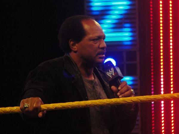 WWE Hall of Famer Ron Simmons, aka Faarooq,