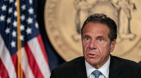 Gov. Andrew M. Cuomo in his New York