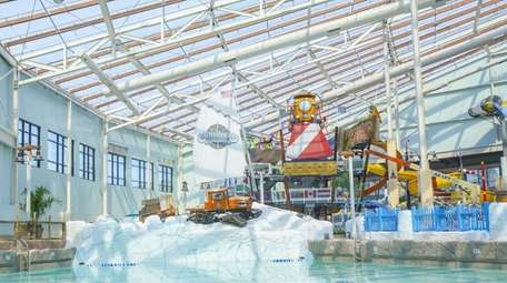 The Aquatopia Indoor Waterpark, located within the Camelback