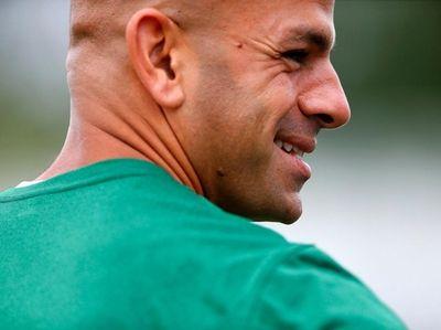 New York Jets head coach Robert Saleh during