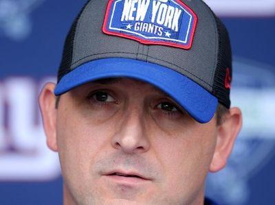 New York Giants head coach Joe Judge speaks