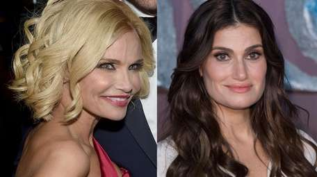 "Original ""Wicked"" stars Kristin Chenoweth, left, and Idina"