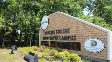 The now-closed Dowling College campus in Shirley. Plans