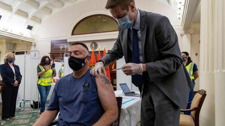 WIth vaccination rates slowing down, Nassau County Executive