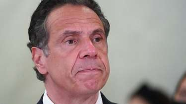 Gov. Andrew M. Cuomo allegedly subjected a female