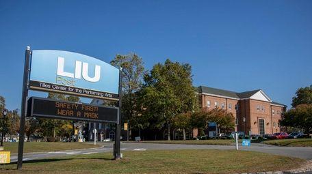 LIU Post in Brookville is pictured in October