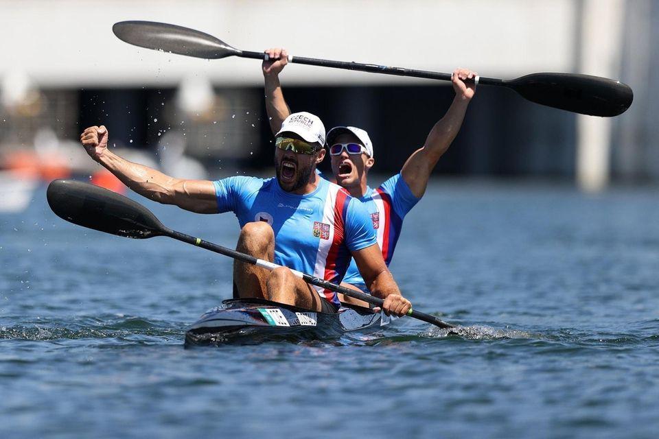 Josef Dostal and Radek Slouf of Team Czech